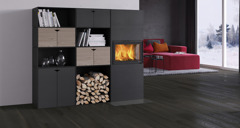 Modele de seminee nordice, perfecte pentru realizarea unui designul interior scandinav
